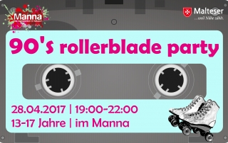 90s rollerblade party final